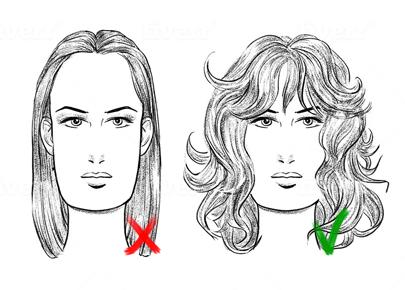 Face Shape Oblong